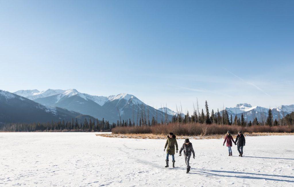 Vermilion Lakes Winter